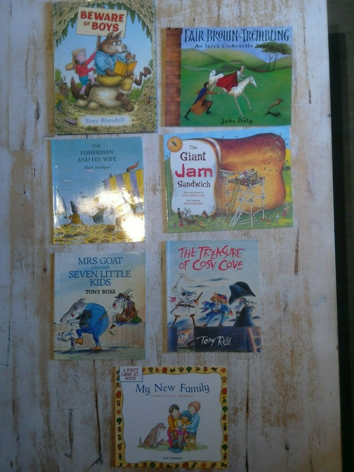7 English Children's Books