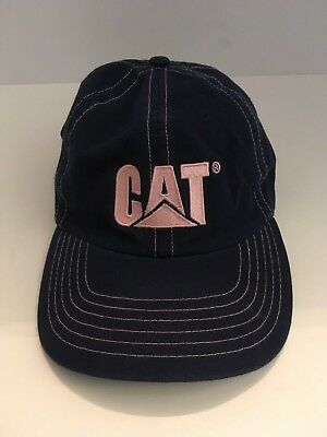 Catwoman Hat (Authentic Genuine CAT Womens Blue & Pink Cap Hat Caterpillar)