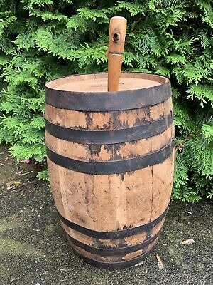Vintage 5 Gallon Oak Liquor Berarducci  Barrel Cask Tabletop Spirits Wine Liquor 5 Gallon Oak Barrels