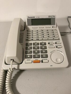 Panasonic Digital Super Hybrid KX-T7453 White 30 Button Display Speaker with (Digital Super Hybrid)