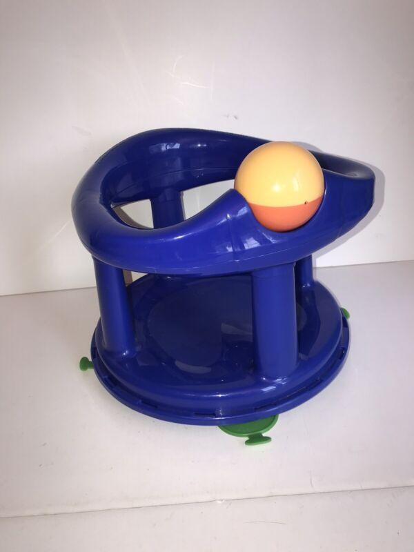 Safety First Swivel Baby Bath Rotating Ring Seat Bathtub Safety 1st  Blue