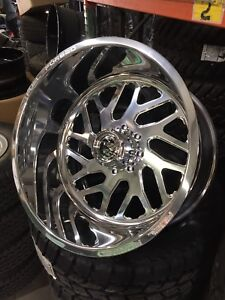 24x12 Fuel forged FF-29 Wheels Rims 8x170 Ford F-250 F-350 IN STOCK SHIPS TODAY