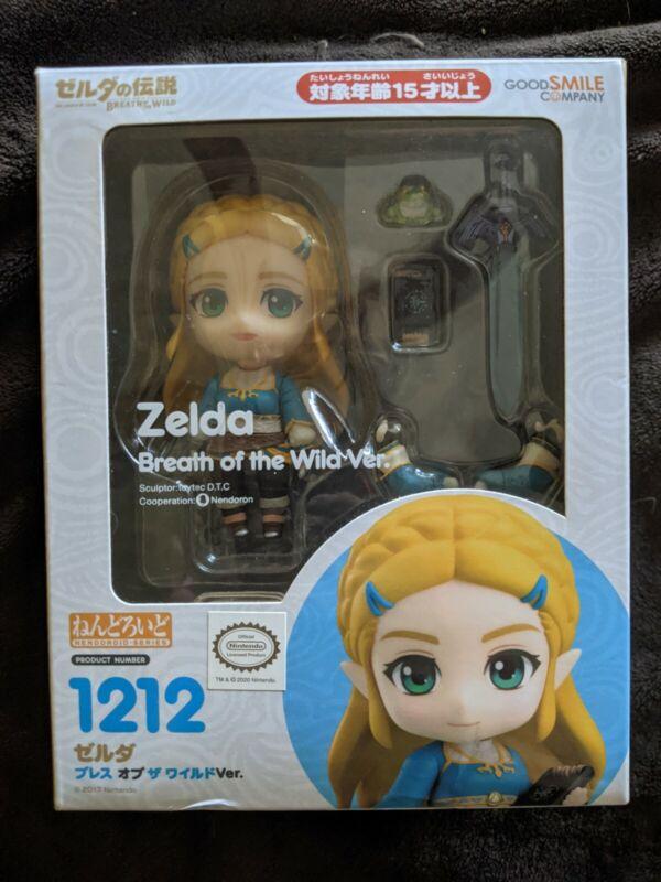 Authentic Nendoroid Princess Zelda Breath of the Wild PREOWNED READ DESCRIPTION