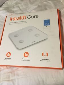 IHealth Core Wireless Body Composition Scale New in Box