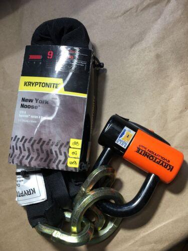 Kryptonite New York Noose 1275 Bicycle Chain Bike Lock with