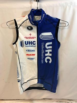 df86f40e2 United Healthcare Vermarc Mens Pro Cycling Vest Medium Thermal Road Bike  UHC NEW