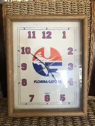 Vintage University of Florida Gators Quartz Wall Clock by World Clocks