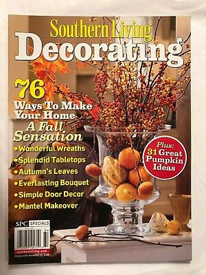 Southern Living Decorating 31 Great Pumpkin Ideas Nov 2008 Wreaths