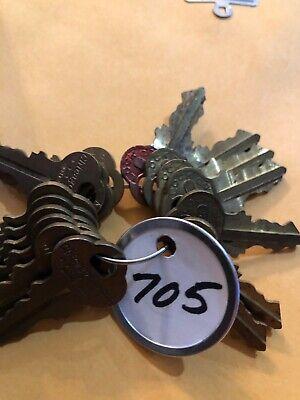5 Northwestern NC705 Vending Machine Keys Peanut Gumball Oak Acorn Capsule Gum