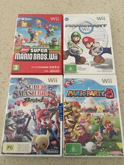4 Wii Games $25 each