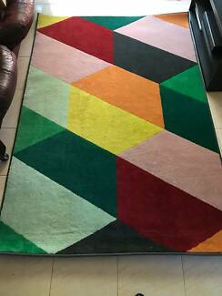 Colourful IKEA rug, great condition. Pick up Randwick.