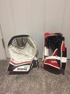 Goalie Pads/Blocker/Trapper
