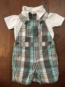 6-12 month size Overalls