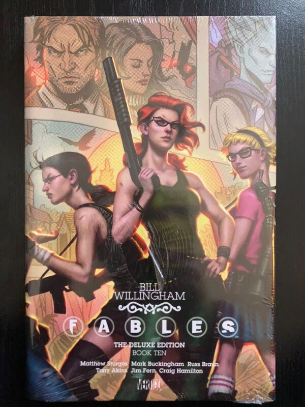 Fables Vol. 10 Deluxe Edition Vertigo DC Bill Willingham Comic HC Sealed New