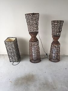 Rattan lamps Mango Hill Pine Rivers Area Preview