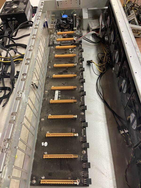 Octominer Riserless 12x GPU Miner.