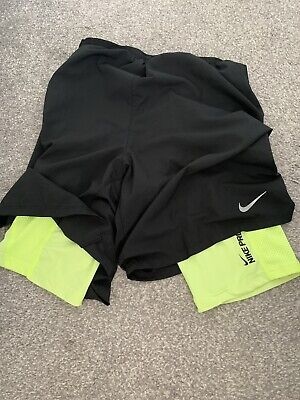 Nike 2 In 1 Running Shorts With Compression Inside Medium