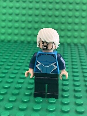 Lego Super Heroes Quicksilver Minifigure 76041 Avengers Age of Ultron