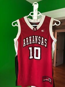 Arkansas basketball jersey youth medium