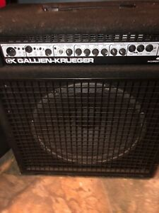 Gallon kruueger 400 watt bass amp