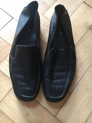 ladies footglove shoes size 8 Wide Fit Black