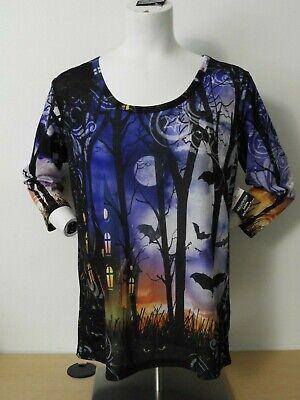 Halloween Tag (EYE SPY BATS Halloween TEE T-Shirt WOMEN'S Size S M L XL 2X 3X NEW)