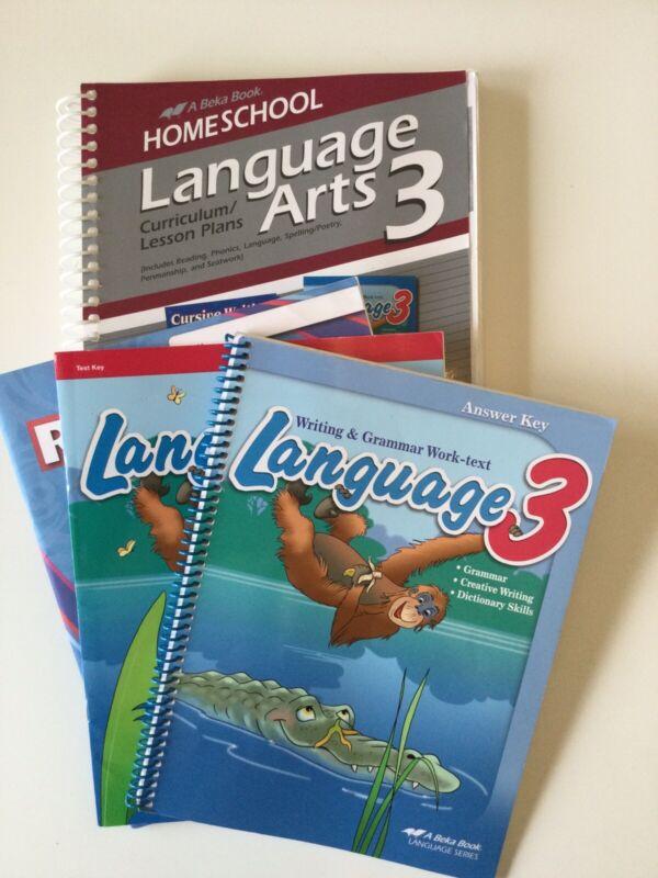 Abeka Language Arts 3 Teacher Materials And Skill Sheets
