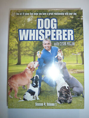 Dog Whisperer with Casar Millan: Season 4 Volume 1 DVD 5-Disc Set TV show NEW!