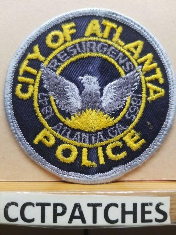 ATLANTA, GEORGIA POLICE SHOULDER PATCH GA