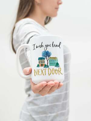 Long Distance Best Friend Gift Moving States Coffee Mug For Friend Moving