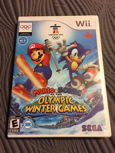 Mario & Sonic at the Olympic Winter Games for Wii & Wii-U