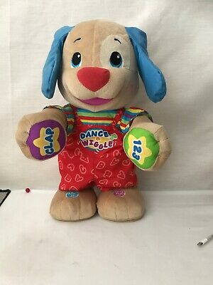 Dance And Wiggle Laugh & Learn Puppy Dog Fisher Price Dances Talks Teaches ABC
