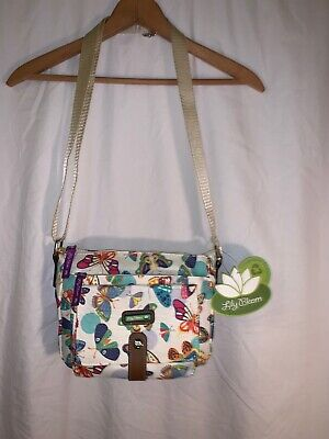 Lily Bloom Cristina Crossbody Butterfly Twister NWT