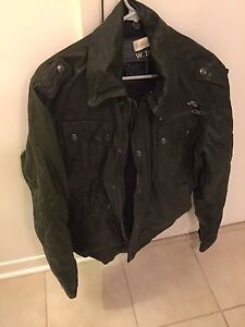 Energie Genuine leather jacket size XL but made small