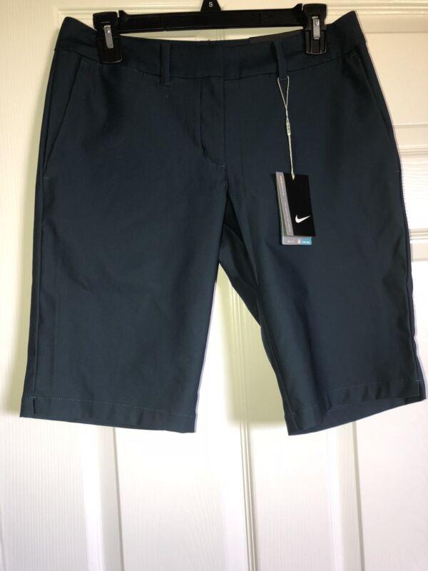 Nike Golf  Women's Performance Dri-Fit Shorts Dark Green Size 4 NWT $75 MSRP