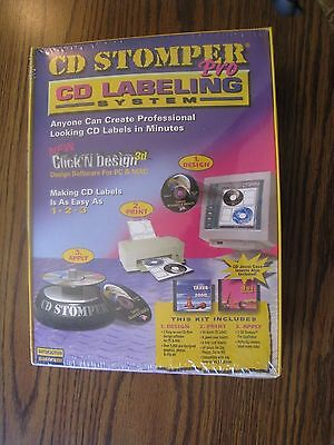 Avery Dennison Cd Stomper Pro Cd Labeling System New Unopened Sealed