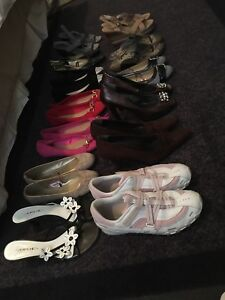 Large Assortment of Women's Shoes