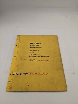 New Holland Service Parts Catalog 513 519 Manure Spreader 4-81
