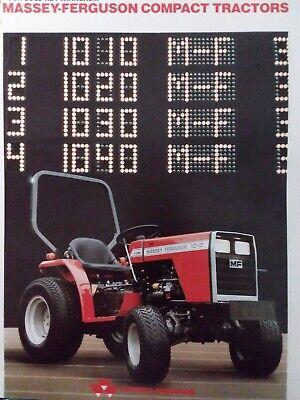 Massey Ferguson Tractor Mf 1010 1020 1030 1040 1045 Master Repair Service Manual