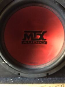 """MTX 12"""" Subwoofer in Box"""
