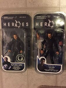 Heroes sylar and hiro mint sealed