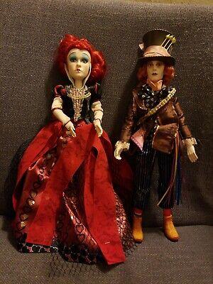 Alice in Wonderland Dolls- Queen of Hearts and Mad Hatter](Mad Hatter And Alice In Wonderland)