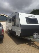 Hire From $120pn AVAN Aspire 617 Triple Bunk Family Ensuite Caravan Canning Vale Canning Area Preview
