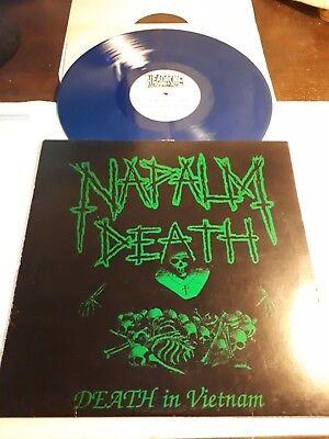 NAPALM DEATH death in vietnam LP carcass benediction repulsion nasum wormrot