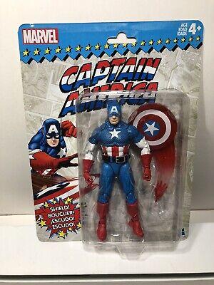 2017 Hasbro Marvel Legends CAPTAIN AMERICA Retro Series 6' Action Figure