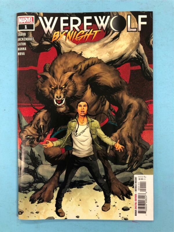 WEREWOLF BY NIGHT # 1 Comic ~ Written by TABOO BLACK EYED PEAS ~ UNREAD ~ MARVEL