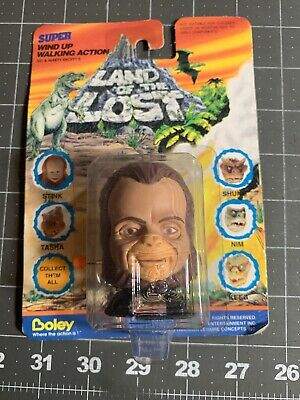 STINK  LAND OF THE LOST TV Show 1991 Wind-Up ACTION FIGURE TOY NIP Boley (Land Of The Lost Tv Show 1991)