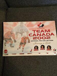 Team Canada Pin Set
