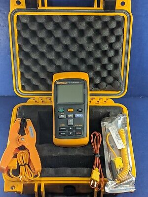 Fluke 54 Ii B Thermocouple Thermometer Excellent Screen Protector Case More