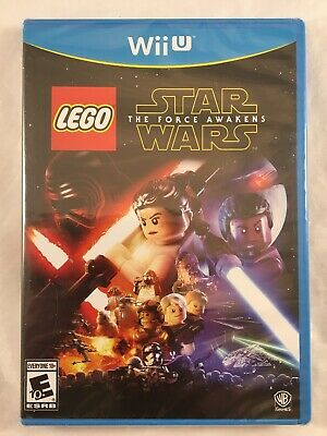 LEGO Star Wars: The Force Awakens (Nintendo Wii U, 2016) NIB, New, Sealed BGH bc